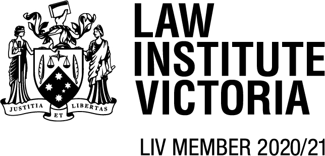 Bardoel and Adams Law Institute of Victoria membership logo